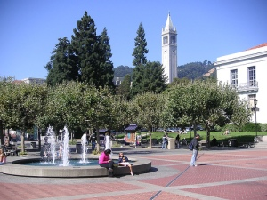 Sproul Plaza, UC Berkeley
