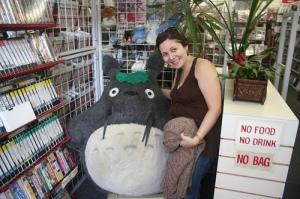Totoro & Kristi, Japantown