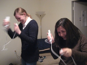 Maria & Kristi, Wii Boxing