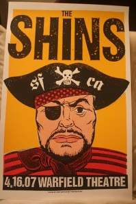 The Shins, Concert Poster