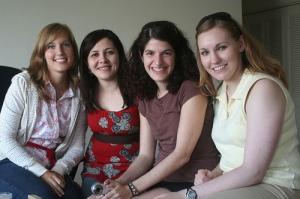 Heidi, Kristi, Tessa & Maria