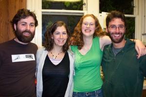 Ben, Jessie, Sara & Josh