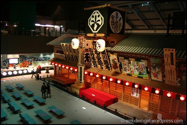 Nakamura-za, Edo-Tokyo Museum