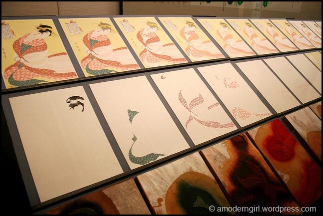 Wood Block Prints, Edo-Tokyo Museum