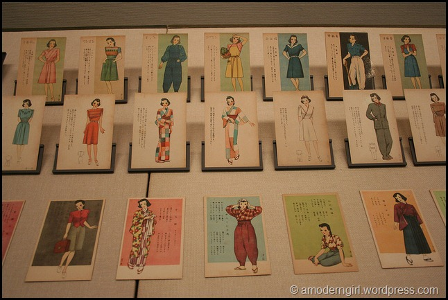 Fashion Plates, Edo-Tokyo Museum