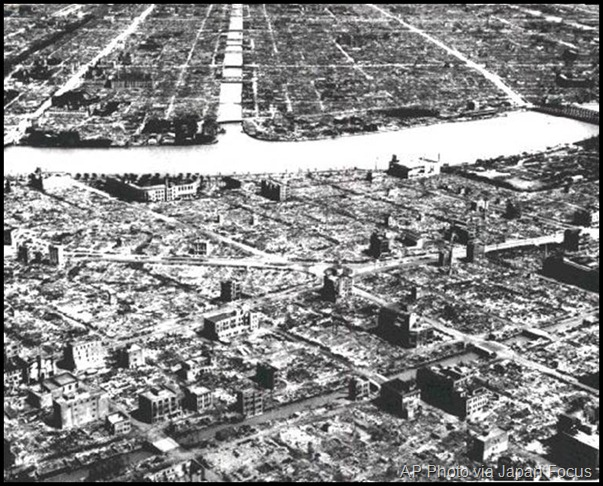 Tokyo, After the Fire Bombing