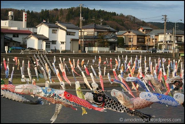 Koinobori, Kamo-shi, Niigata-ken