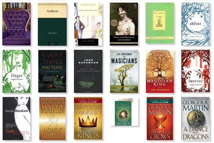 My 2011 50 Book Challenge: The Results! | A Modern Girl