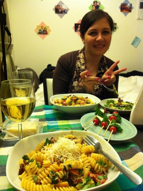 Basil-Themed Dinner