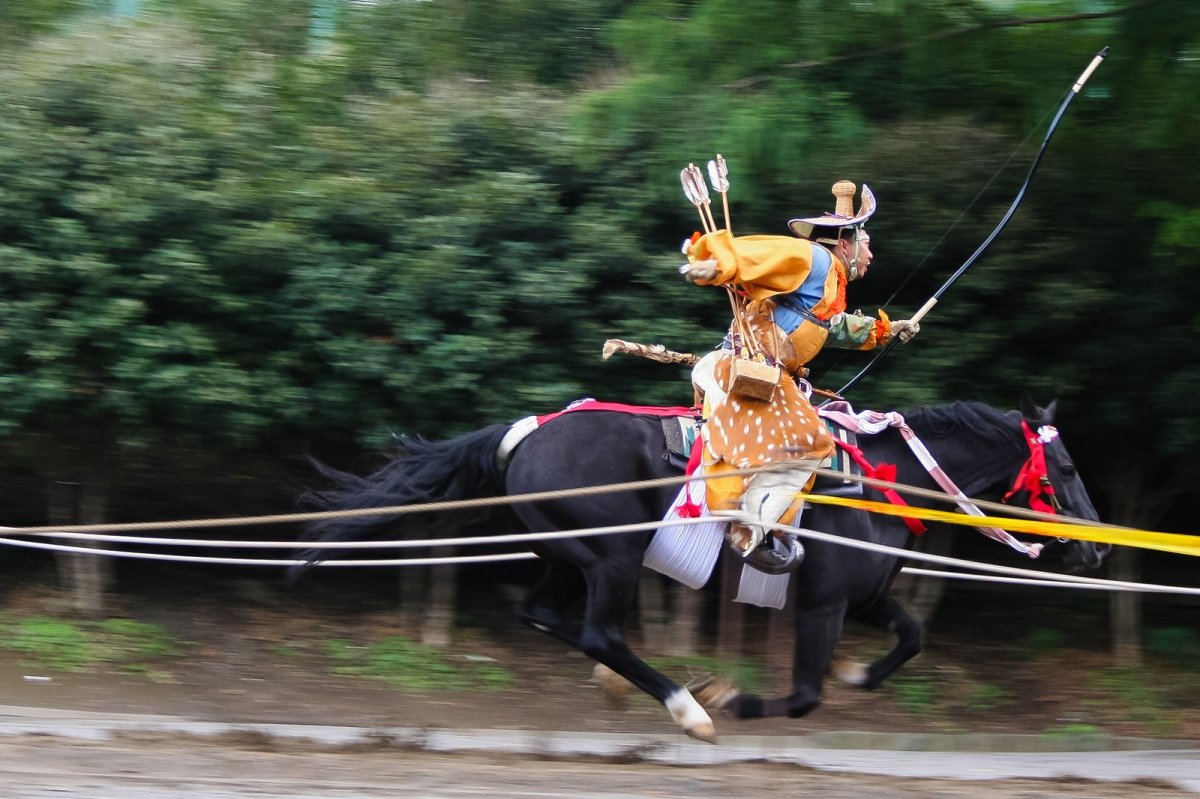 Yabusame: The Japanese Art of Horseback Archery