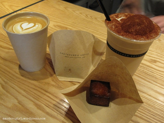 Hot & Iced Cappuccinos, Omotesando Koffee