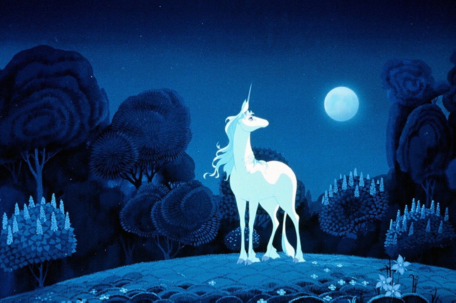 last unicorn Watch the last unicorn (1982) a magic animated fantasy film with original songs, pictures and full quotes.